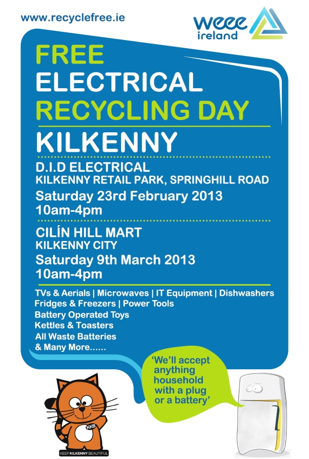 Recycle in Kilkenny City