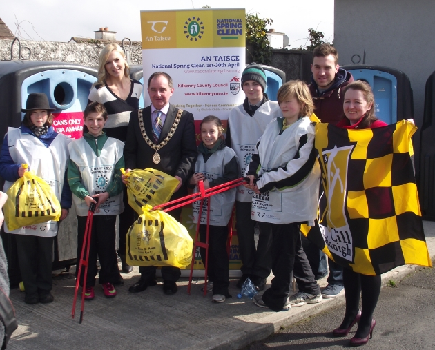 National Spring Clean Kilkenny 2013. Copyright: Keep Kilkenny Beautiful