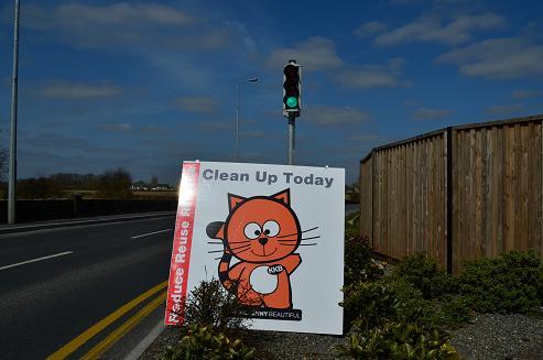KKB clean up gets green light on Circular road. Copyright:  Keep Kilkenny Beautiful