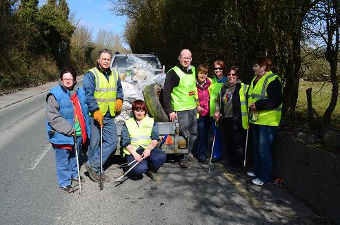 circular road clean up April 2013