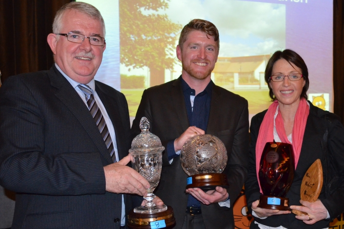 Award winners at Annual awards 2013