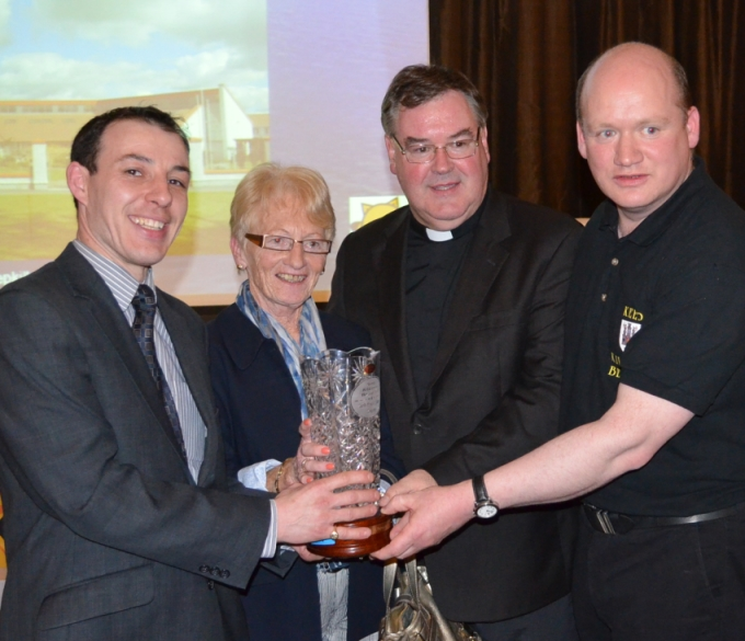 St Patricks Parish receive overall Parish award at Annual awards 2013