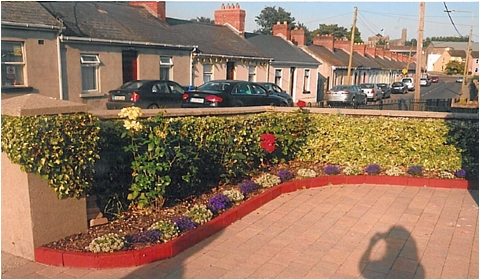 St Canices parish: Best garden winner, Timothy and Maura Clifford, Lord Edward St, the Butts
