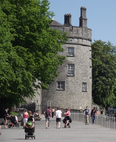 The Historic Parade tower  at Kilkenny Castle