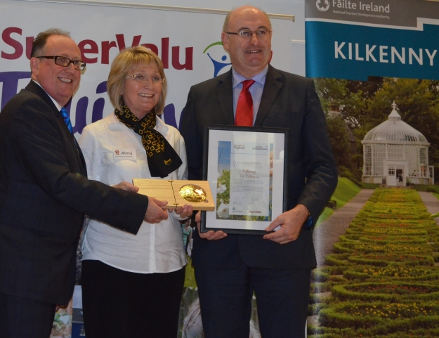 Kilkenny City received the Gold Medal award