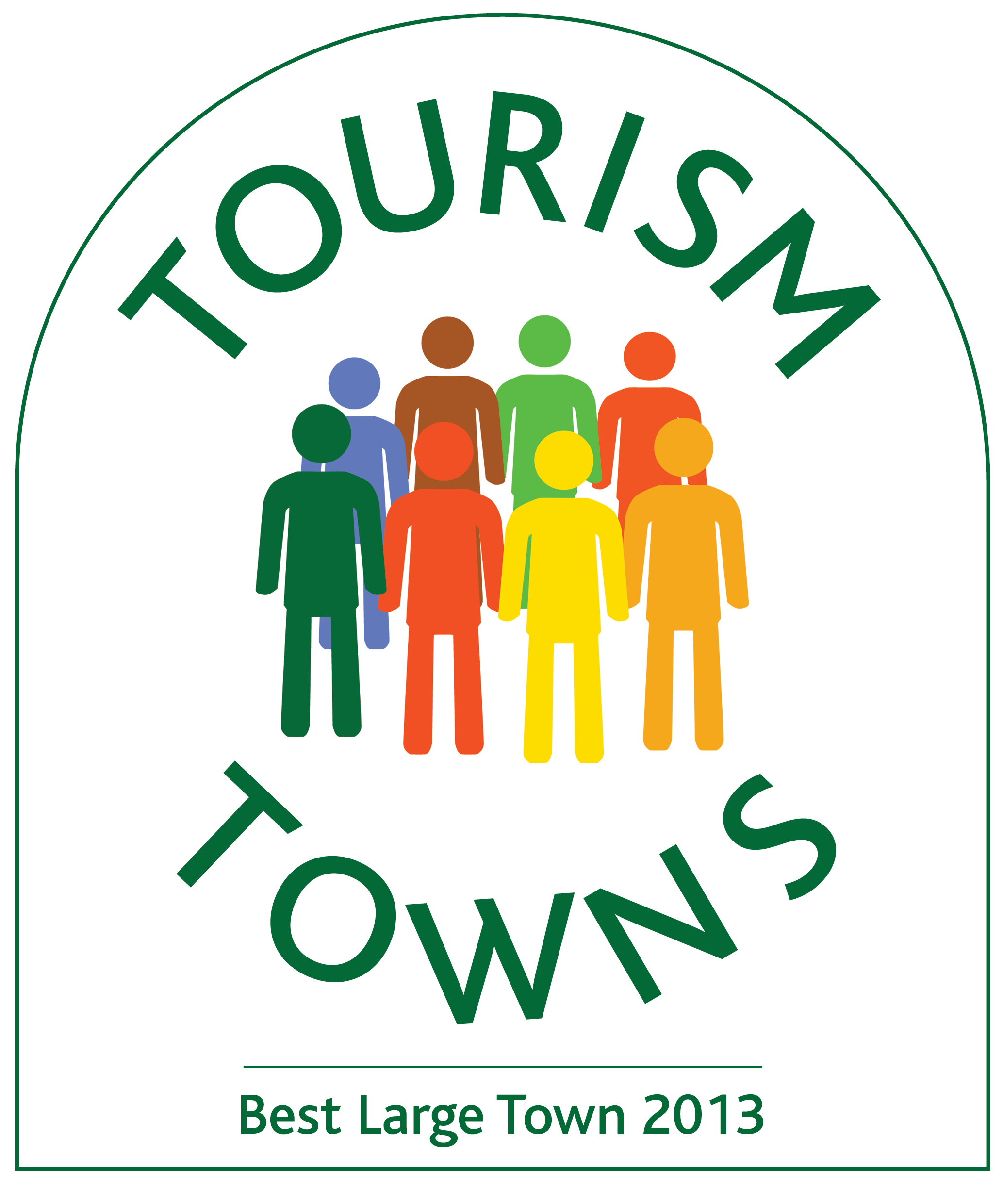 Tourism Town Logo_Best Large Town 2013