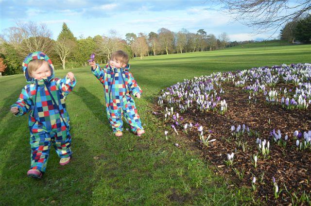 Chloe  & Emily in Kilkenny park