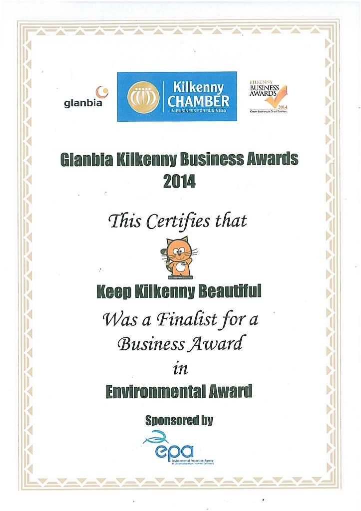 Kilkenny chamber awards