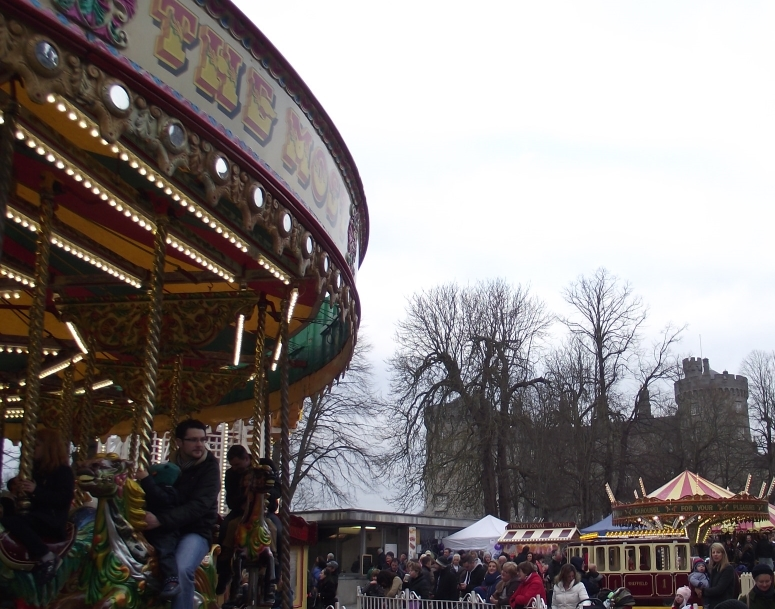 The Parade fun fair