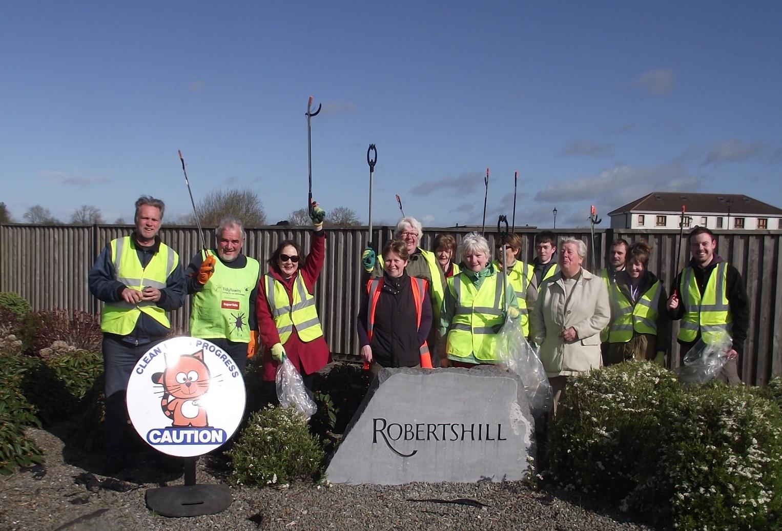 clean up circular road -