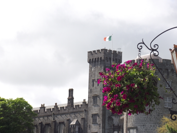 kilkenny castle on day of presidents visit r