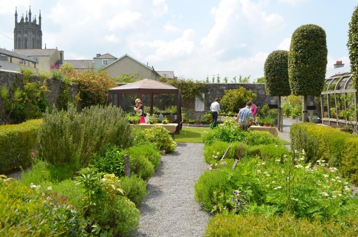 Rothe house herb garden