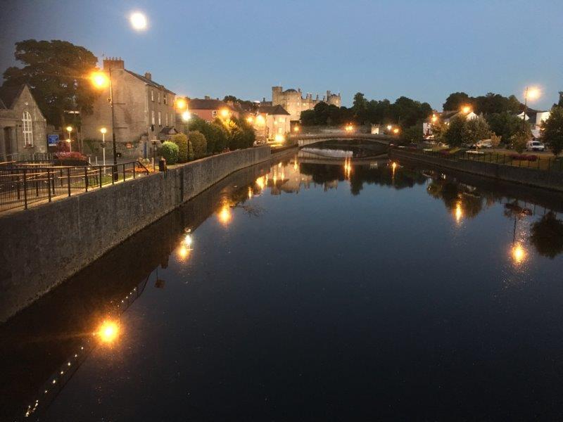River Nore, john's bridge and Kilkenny Castle
