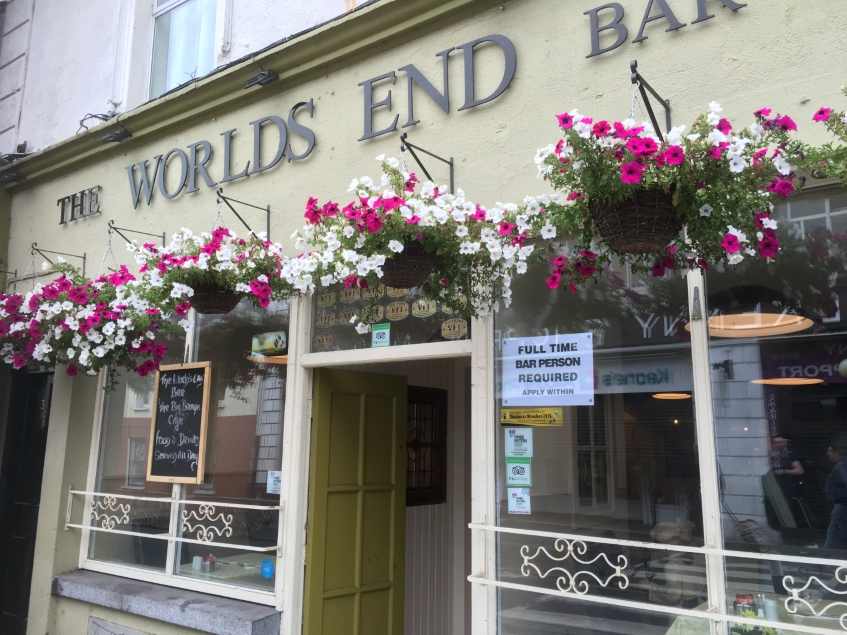 The Worlds End Bar on ohn street